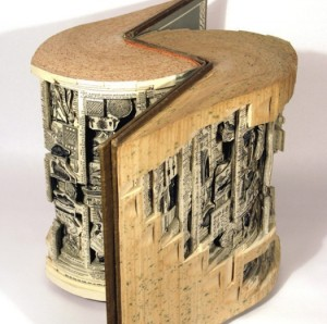 book sculpture 1