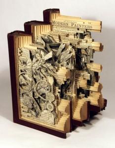 book sculpture 2